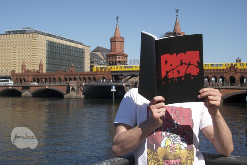 Riot1394-Lines, Riot1394, Buch, Frameless-studio, Berlin, Kreativagentur, RIOT1394-Lines
