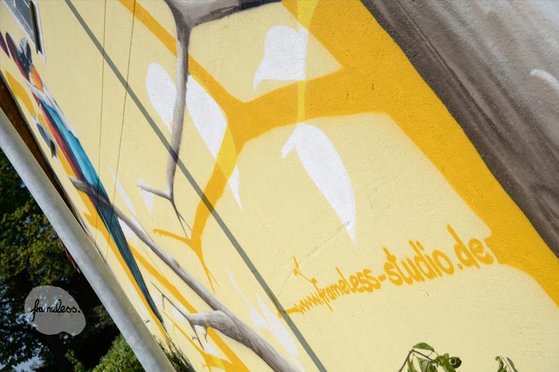 Fassadengestaltung Berlin, Graffiti Auftrag, Auftragsarbeiten, Wandmalerei, Fassadenmalerei, Ahrensfelde, Wandgestaltung, Graffitikünstler