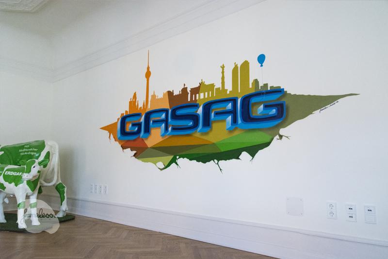 Wandgestaltung, Wandmalerei, Berlin, Brandenburg, Frameless studio, Graffitiauftrag, Graffitikünstler, Innenraumdesign, Innenraumgestaltung, Büro, Arztpraxen,