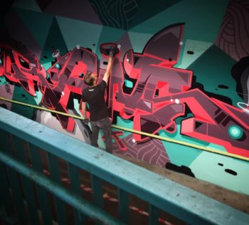 Videodokumentation, Projektvideo, Motiondesign, Video, Frameless-studio, rawsone, raws, Berlin, Graffiti, Graffitiauftrag, S-Bahn, Tunnel
