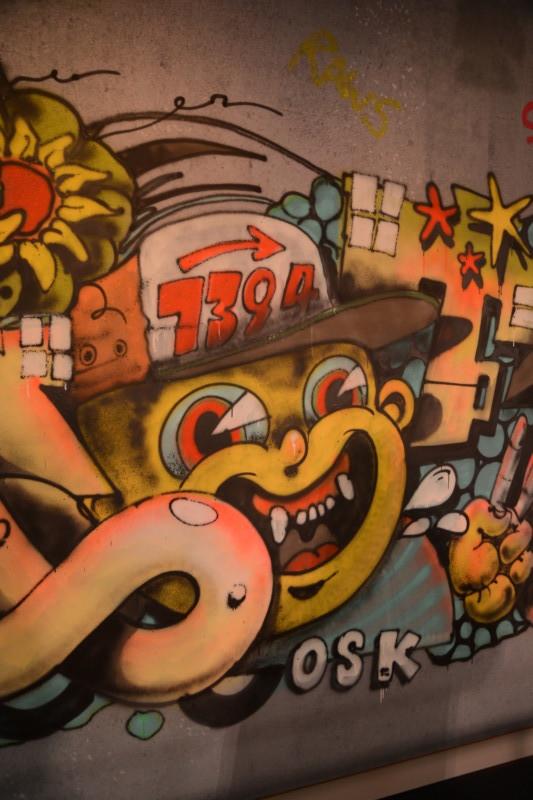 Event Graffitiauftrag, Graffiti Auftrag, Marc Cain, Fashion Week Berlin, Live Painting, Skenar73, Raws, Riot1394, Nascauno